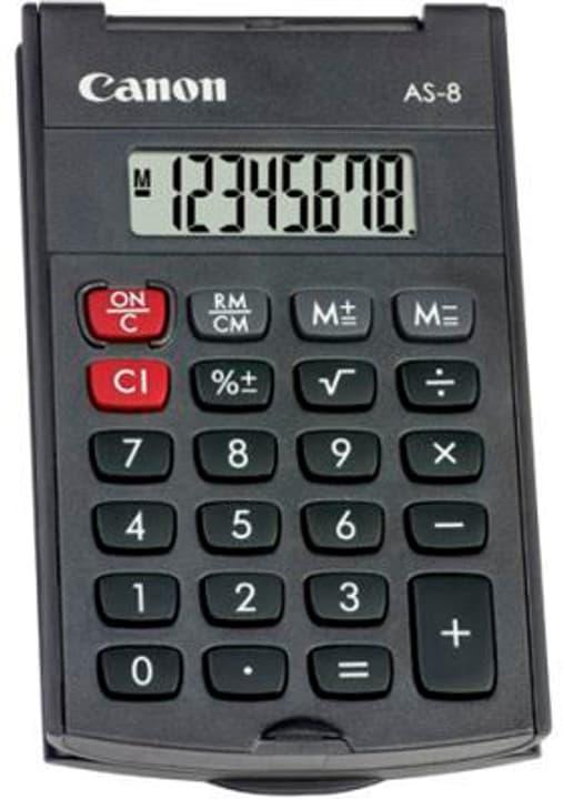 Taschenrechner CA-AS8 8-stellig Taschenrechner Canon 785300151132 Bild Nr. 1