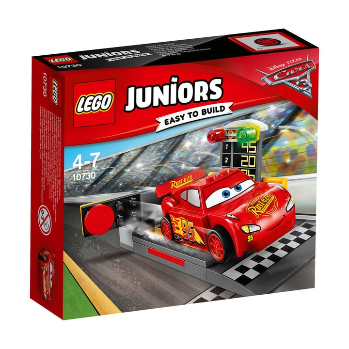 LEGO Juniors Le propulseur de Flash McQueen 10730 748845900000 Photo no. 1