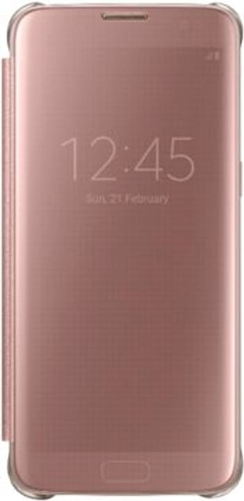 Clear View Cover S7 Edge pink Samsung 798074800000 Bild Nr. 1