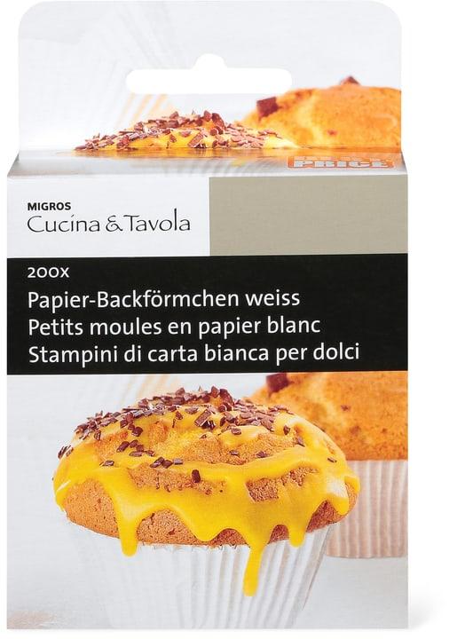 CUCINA & TAVOLA Petits moules en papier blanc Cucina & Tavola 703907000000 Photo no. 1