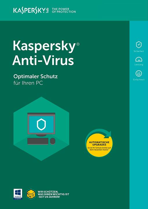 Anti-Virus 1 User 1 Year PC (D) Digital (ESD) 785300133763 Bild Nr. 1