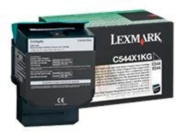 return C544X1KG noir cartouche de toner Lexmark 785300124470 Photo no. 1
