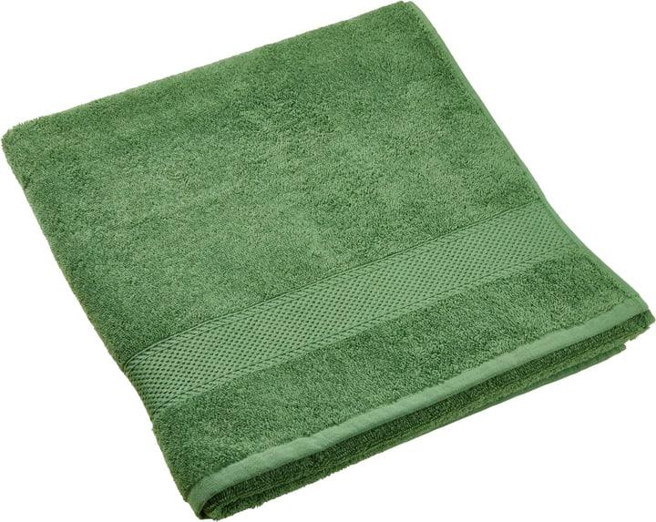 BEST PRICE telo da doccia 450872820560 Colore Verde Dimensioni L: 70.0 cm x A: 140.0 cm N. figura 1