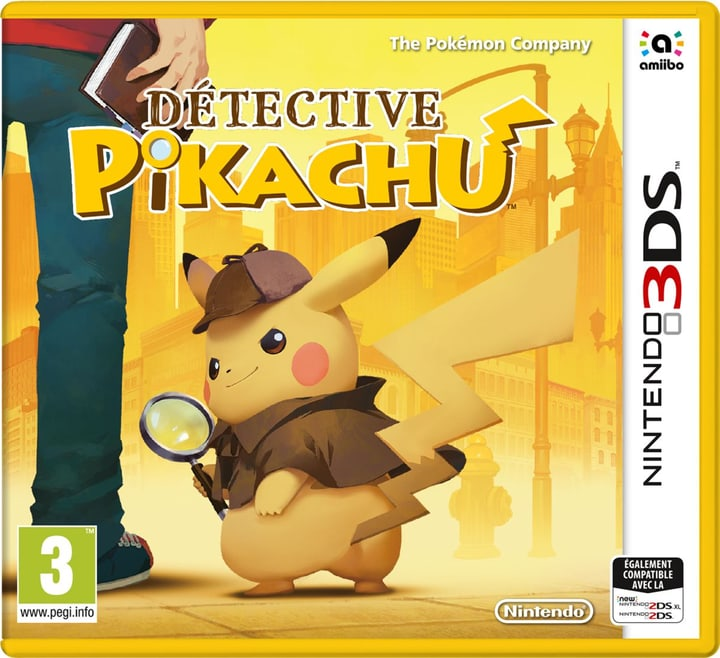 3DS - Meisterdetektiv Pikachu (F) Box 785300132200 Photo no. 1