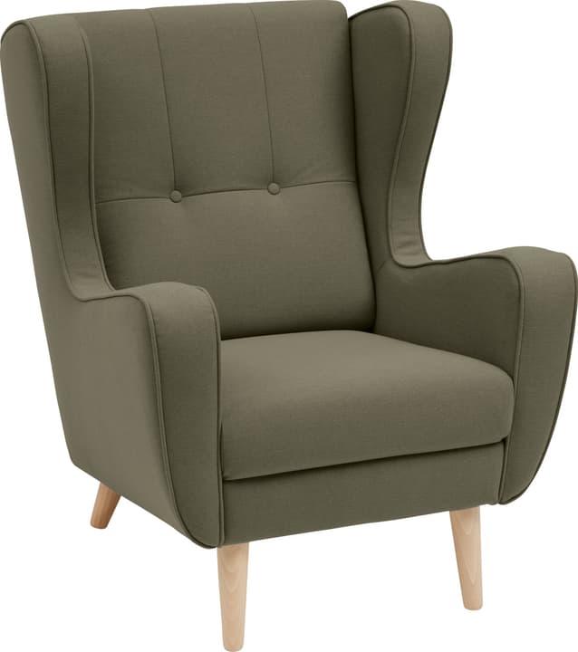 BRAHMS Sessel 402462807060 Grösse B: 80.0 cm x T: 90.0 cm x H: 97.5 cm Farbe Grün Bild Nr. 1