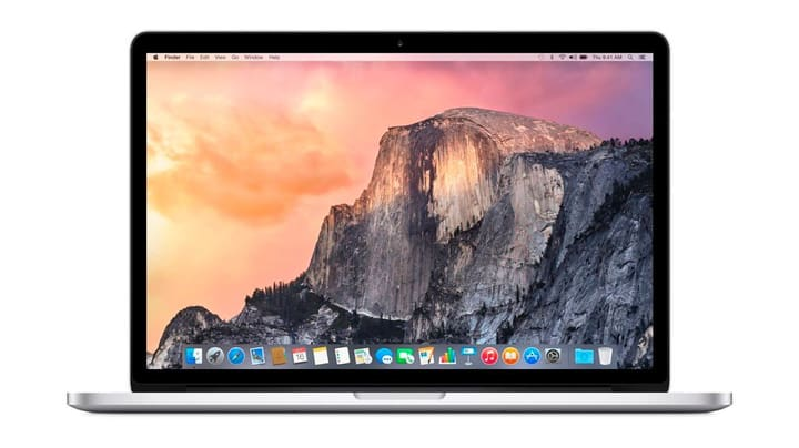 "MacBook Pro Retina 2.2GHz 15.4"" 256GB Force Trackpad Notebook Apple 797868200000 Bild Nr. 1"
