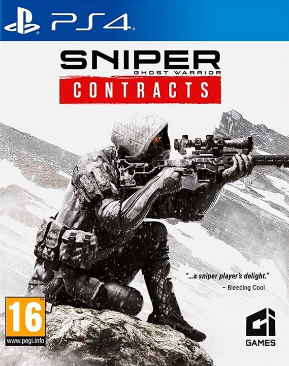 PS4 - Sniper Ghost Warrior Contracts D Box 785300148229 Photo no. 1