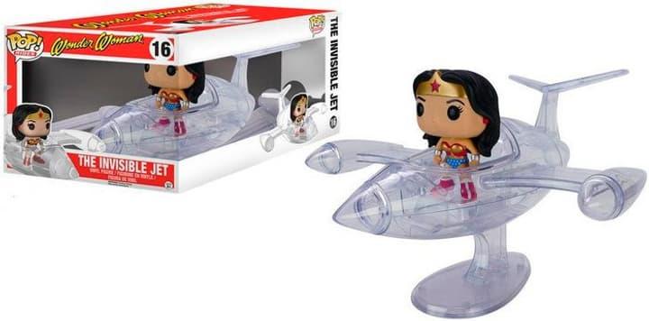 DC Comics: Jet Invisible & Wonder Woman - POP! 16 - Véhicule en vinyle avec figurine 785300130538 Photo no. 1