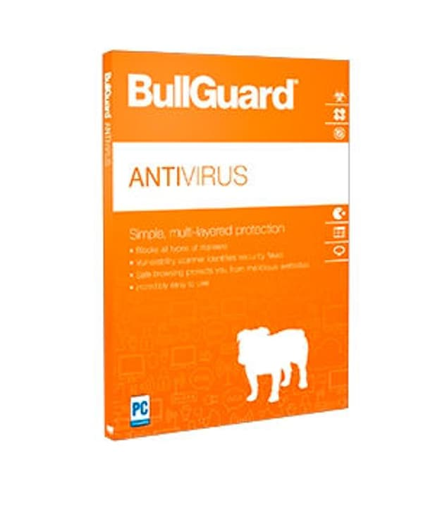 Antivirus v2018 - 2 Years 1 Device PC Digitale (ESD) BullGuard 785300133503 N. figura 1