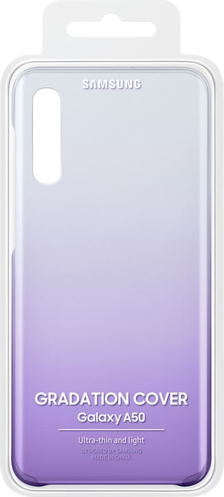 Gradation Cover A50 violet Coque Samsung 785300142929 Photo no. 1