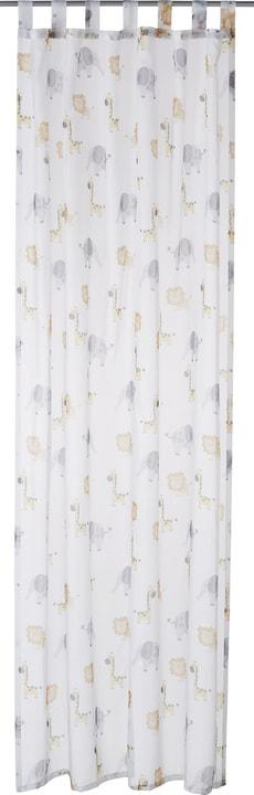 LEON Rideau prêt à poser jour 430272621810 Couleur Blanc Dimensions L: 150.0 cm x H: 270.0 cm Photo no. 1