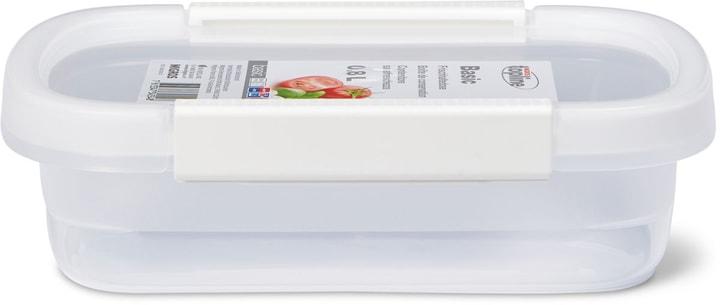 BASIC Boîte de conservation 0.8L M-Topline 703728000001 Couleur Blanc Dimensions L: 15.0 cm x P: 22.0 cm x H: 6.1 cm Photo no. 1