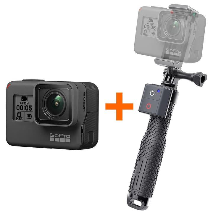 Hero5 Black+SP Remote Selfie Bundle Actioncam Bundle GoPro 793827500000 Photo no. 1