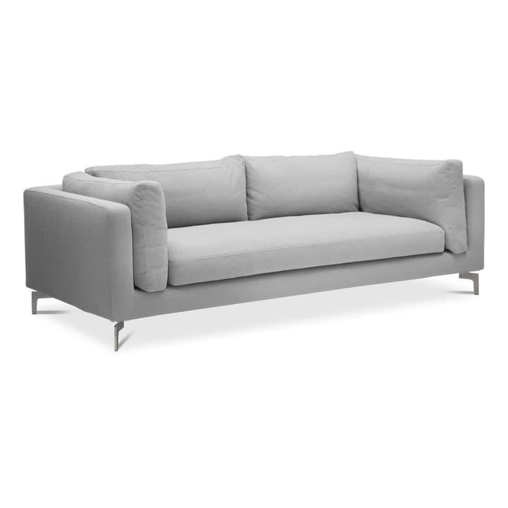 VILMA canapè à 2.5 places 360064629103 Dimensions L: 222.0 cm x P: 100.0 cm x H: 74.0 cm Couleur Gris clair Photo no. 1