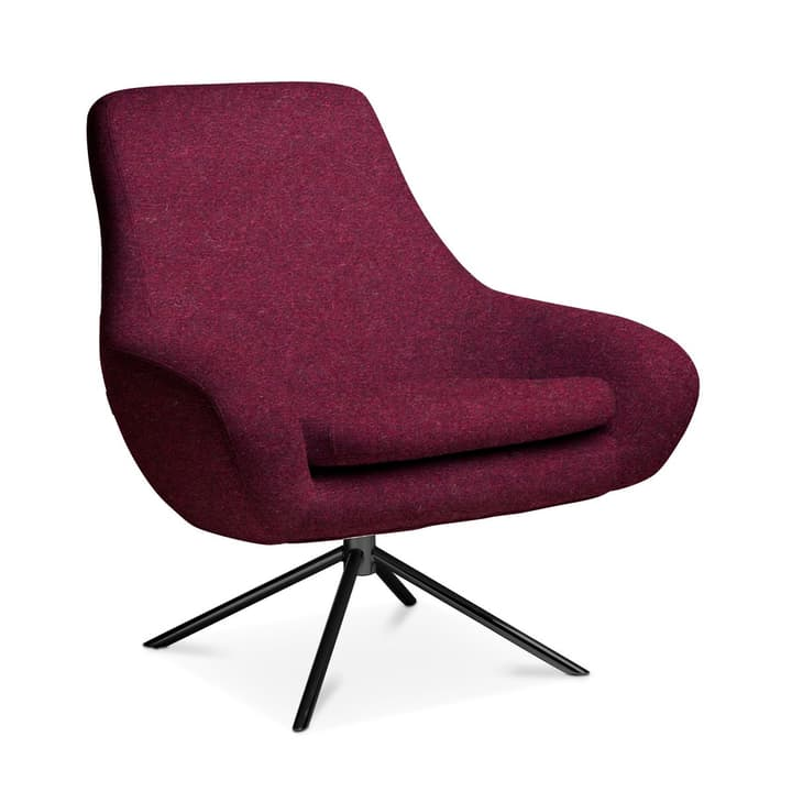 SILAS Sessel 360063919506 Grösse B: 84.0 cm x T: 71.0 cm x H: 90.0 cm Farbe Bordeaux Bild Nr. 1