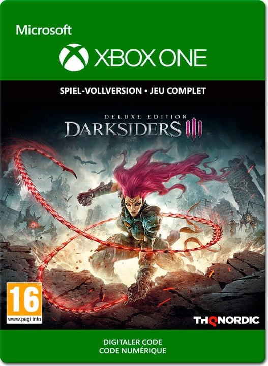 Xbox One - Darksiders III Deluxe Edition Download (ESD) 785300141401 N. figura 1