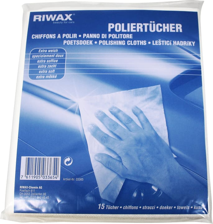 Entretien automobile Chiffon Riwax 620122400000 Photo no. 1