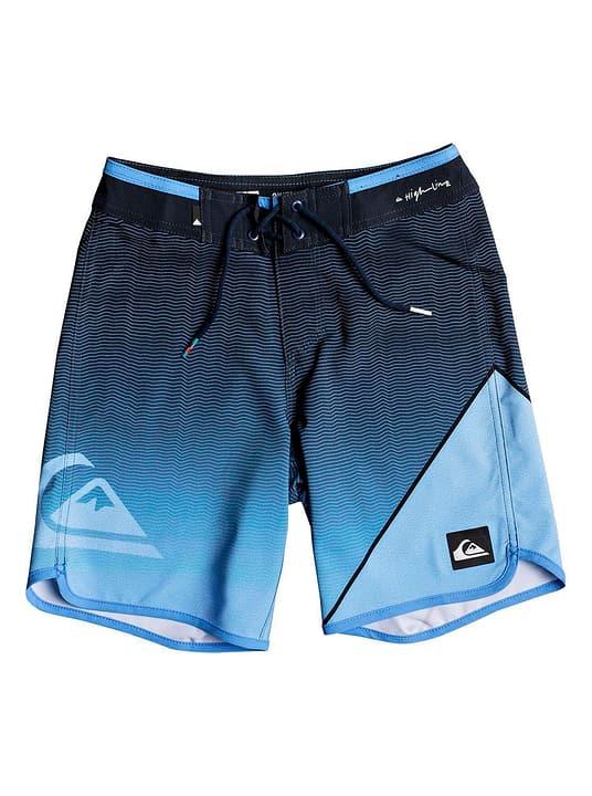 Short de bain pour garçon Quiksilver 464550916440 Couleur bleu Taille 164 Photo no. 1