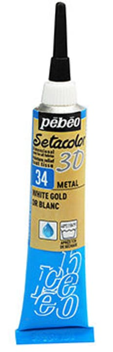 Sétacolor 3D 20ml Metal Pebeo 665469300000 Colore Color Oro N. figura 1