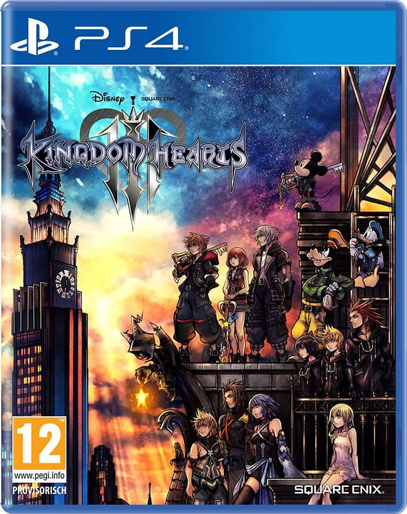 PS4 - Kingdom Hearts 3 Box 785300139667 Langue Allemand Plate-forme Sony PlayStation 4 Photo no. 1