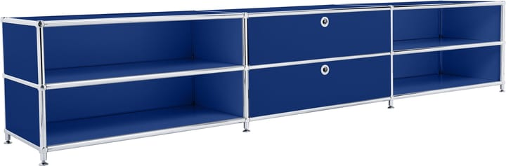 FLEXCUBE Buffet bas 401813830140 Dimensions L: 227.0 cm x P: 40.0 cm x H: 44.5 cm Couleur Bleu Photo no. 1