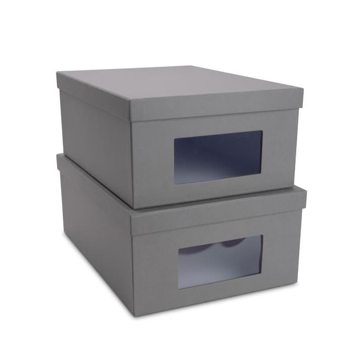 BIGSO CLASSIC Contenitori con finestre 386018650008 Dimensioni L: 36.5 cm x P: 26.0 cm x A: 14.5 cm Colore Grigio N. figura 1