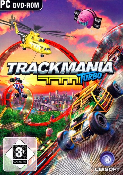 PC - Pyramide: Trackmania Turbo Physique (Box) 785300122477 Photo no. 1