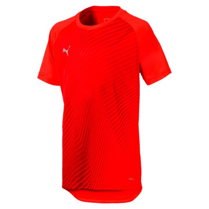 ftblNXT Graphic Shirt Core Jr Kinder-Fussballshirt Puma 466907312830 Farbe rot Grösse 128 Bild-Nr. 1