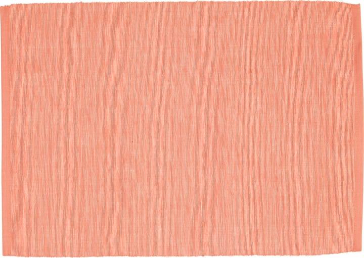 ANIKE set de table 440285400031 Couleur Rouge Dimensions L: 45.0 cm x P: 33.0 cm Photo no. 1