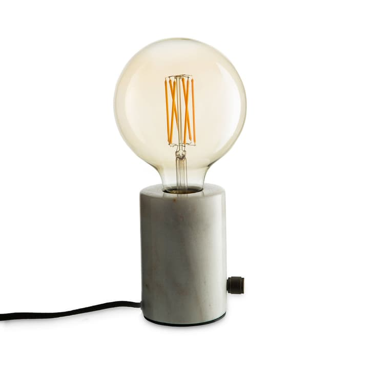 ORBIS Lampe de table 380042400000 Dimensions L: 12.5 cm x P: 12.5 cm x H: 26.0 cm Couleur Blanc Photo no. 1