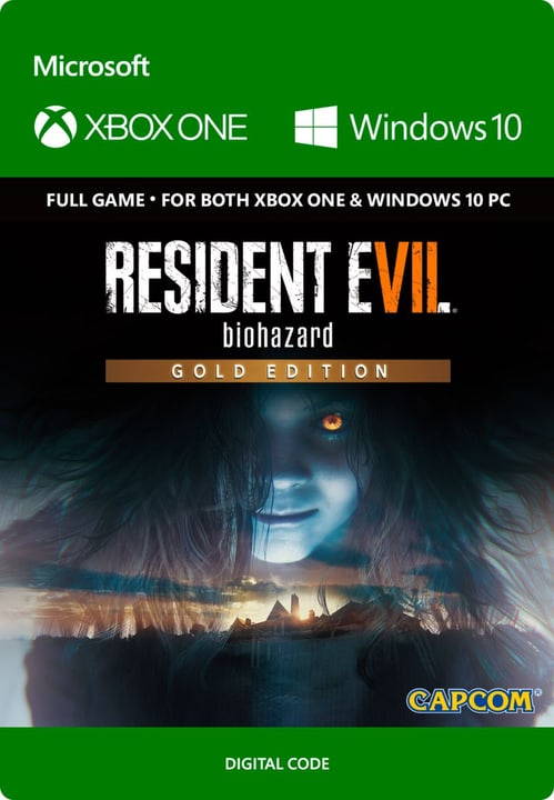 Xbox One - RESIDENT EVIL 7 biohazard Gold Edition Download (ESD) 785300135641 Photo no. 1