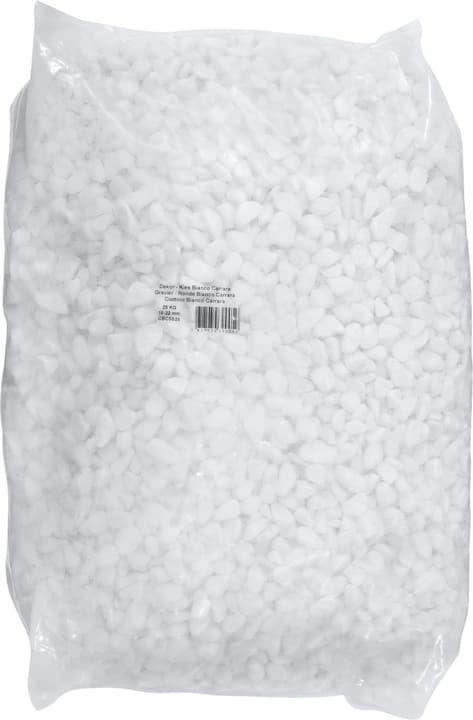 Gravier Bianco Carrara, 25 kg - Palette à 40 pièces 647521000000 Photo no. 1