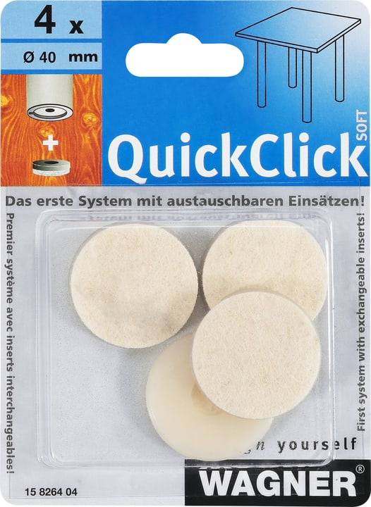 QuickClick-patin de feutre soft Wagner System 605866800000 Photo no. 1