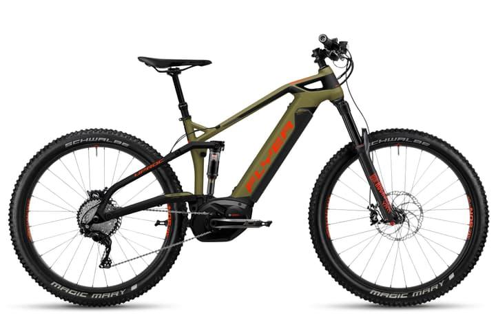 "Uproc6 4.10 27.5""+ E-Mountainbike FLYER 463331500564 Rahmengrösse L Farbe khaki Bild Nr. 1"