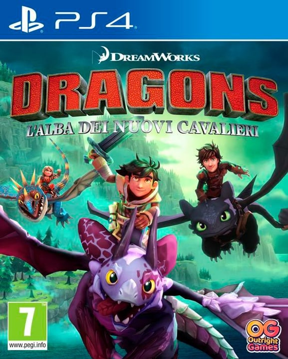 PS4 - Dragons: L'alba dei nuovi Box 785300139740 Lingua Italiano Piattaforma Sony PlayStation 4 N. figura 1