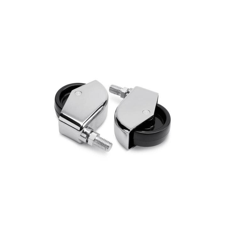 ZILO Roulettes, set à 2p. 362001490636 Dimensions L: 13.0 cm x P: 8.0 cm x H: 3.0 cm Couleur Noir Photo no. 1