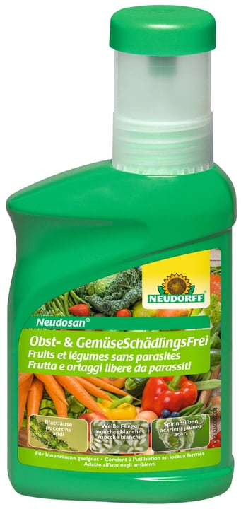 Neudosan Obst+Gemüse Schädlingsfrei, 250ml Neudorff 658423000000 Bild Nr. 1