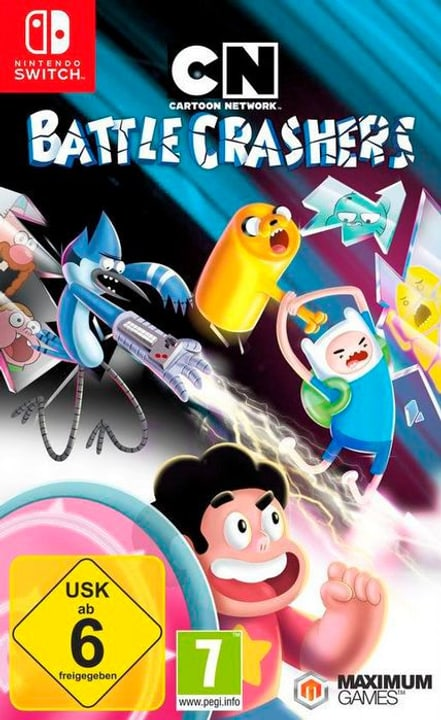 NSW - Cartoon Network: Battle Crasher E/D Box 785300130299 Bild Nr. 1