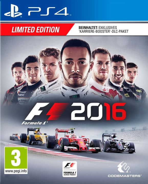 PS4 - F1 2016 (Limited Edition) Physisch (Box) 785300121165 Bild Nr. 1