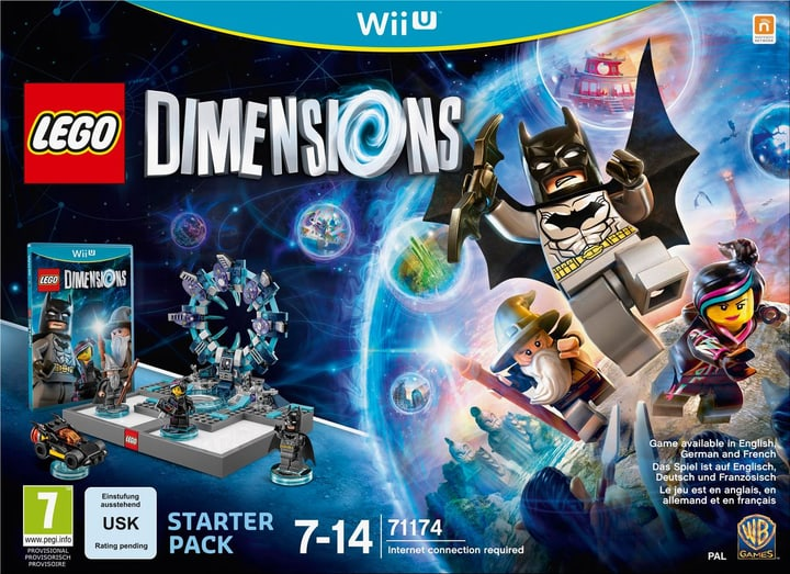 Wii U - LEGO Dimensions Starter Pack Physique (Box) 785300119836 Photo no. 1