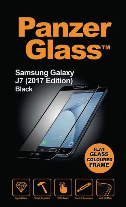 Flat Galaxy J7 (2017) - schwarz Panzerglass 785300134534 Bild Nr. 1