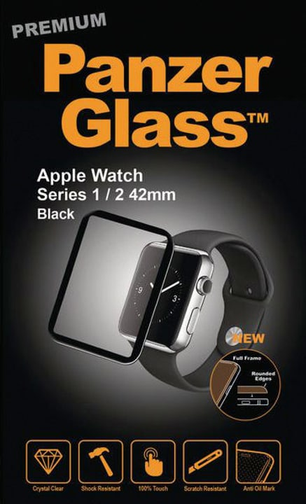 per Apple Watch Serie 1/2/3 42mm - nero Pellicola prottetiva Panzerglass 785300134547 N. figura 1