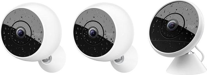 Circle 2 Multipack (2x kabellose/ 1x kabelgebundene Circle 2) Überwachungskamera Logitech 785300132051 Bild Nr. 1