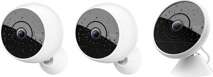 Circle 2 Multipack (2 caméras sans fil + 1 caméra filaire) Logitech 785300132051 Photo no. 1