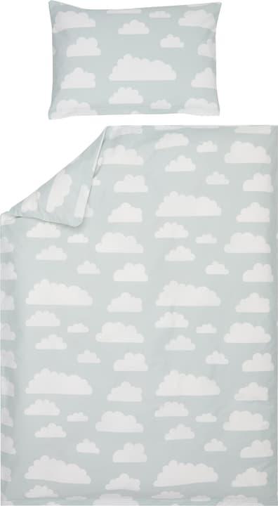 NOA Baby Guarnitura da letto 451271814141 Colore Azzurro Dimensioni L: 100.0 cm x P: 135.0 cm N. figura 1