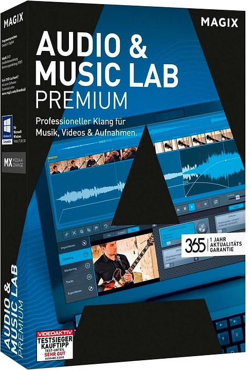 PC - Audio & Music Lab Premium (Aktualitätsgarantie) Physique (Box) Magix 785300120910 Photo no. 1