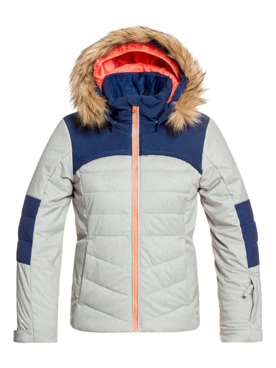 Bamba - Schneejacke Mädchen-Snowboardjacke Roxy 466943315280 Farbe grau Grösse 152 Bild-Nr. 1