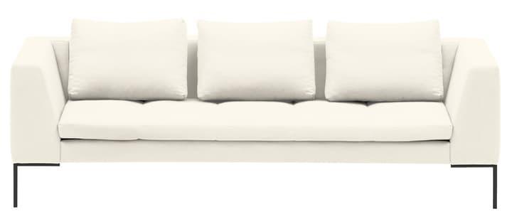 BADER 3er-Sofa 405686430312 Grösse B: 238.0 cm x T: 105.0 cm x H: 80.0 cm Farbe Creme Bild Nr. 1