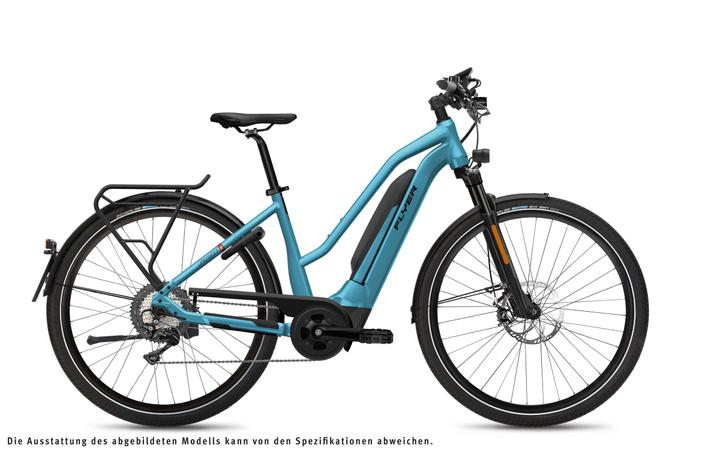 Upstreet5 7.10 HS E-Speedbike FLYER 463368300341 Farbe Hellblau Rahmengrösse S Bild Nr. 1