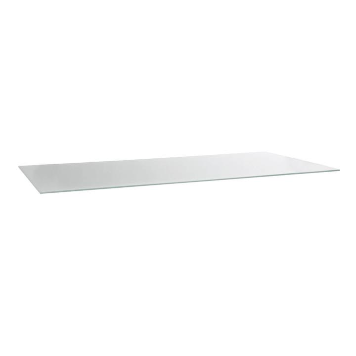 SHINE Piano tavolo 364001477167 Dimensioni L: 160.0 cm x P: 80.0 cm x A: 1.0 cm Colore Bianco N. figura 1